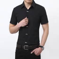 2015 new brand mens dress shirts short sleeve casual shirt