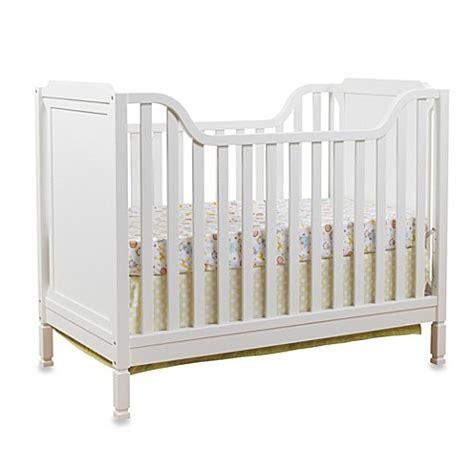 Bedford Baby Crib Sorelle Bedford Classic Crib In White Bed Bath Beyond