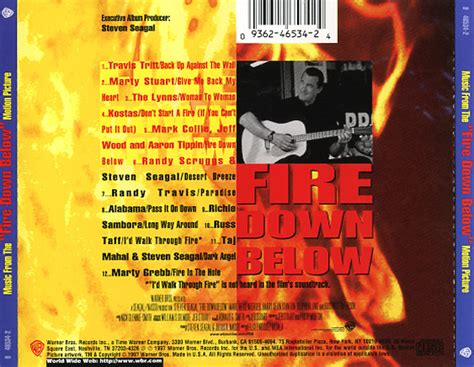 fire down below soundtrack 1997 cd sniper reference