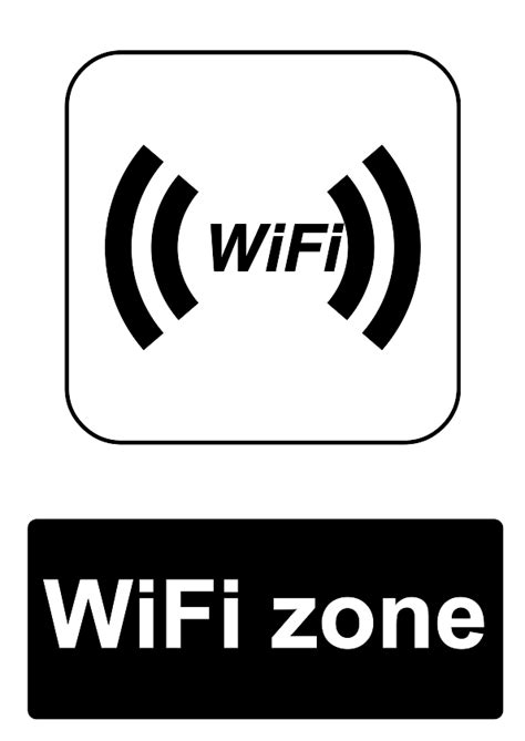 printable free wifi sign free signage uk printable public information signs