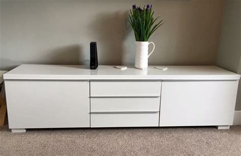 besta burs ikea best 197 burs tv unit high gloss white in york