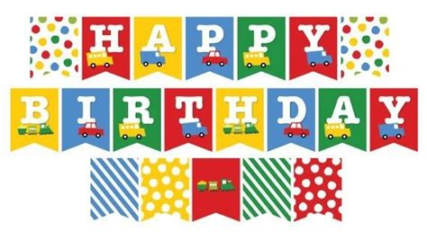 printable birthday banners free personalized happy birthday banner for boys free design templates