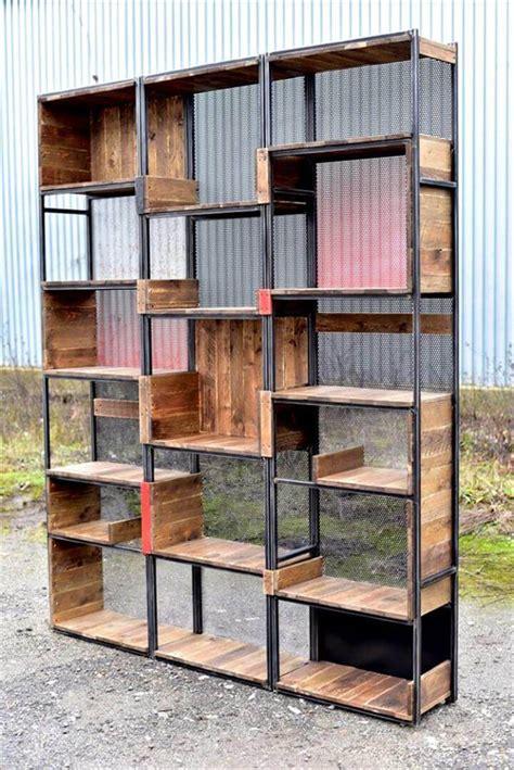steel bookshelves industrial pallets and steel shelves