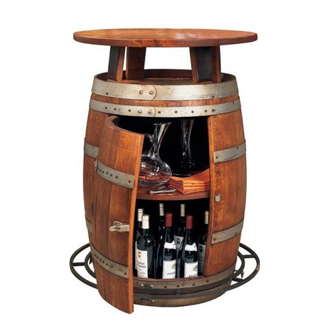 barrel bar table trendy barware ideas for home settings