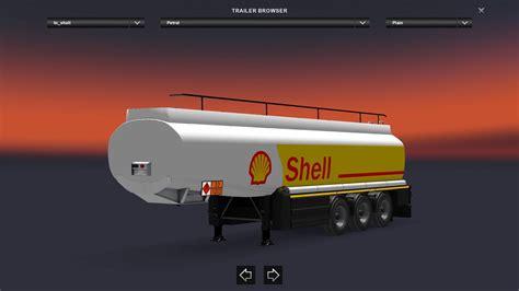 trailer fuel tank  ets mods euro truck simulator  mods etsmodslt