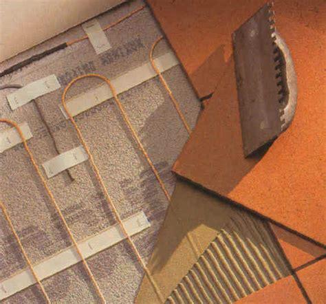easy heat warm tiles floor warming system