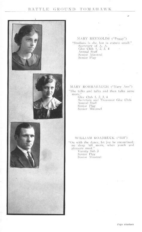1923 Battle Ground High School, Tippecanoe County, Indiana