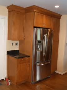 Kitchen Cabinets Around Refrigerator Refrigerator Kitchen Cabinet Images