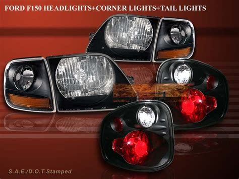 2001 ford f150 tail light assembly 2001 2002 2003 ford f150 svt headlights black corner