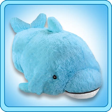 Pillow Pet Dolphin by One Of Our Most Loved Items Pillow Pets Giveaway Tobethode