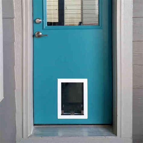 Door With Doggie Door by Dogy Doors Petsafe Pet Door