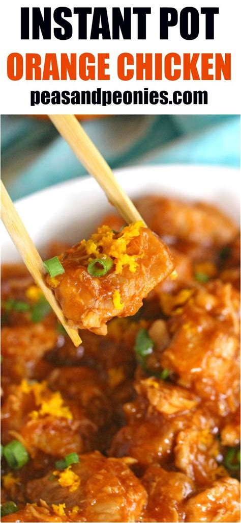 instant pot orange chicken paleo m 225 s de 25 ideas incre 237 bles sobre orange recipes healthy en