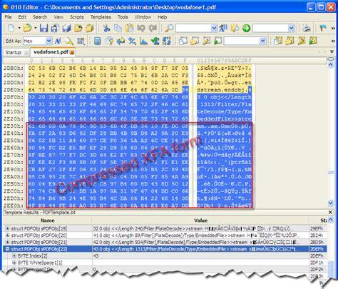 compress pdf python an analysis of a fake vodafone bill pdf file