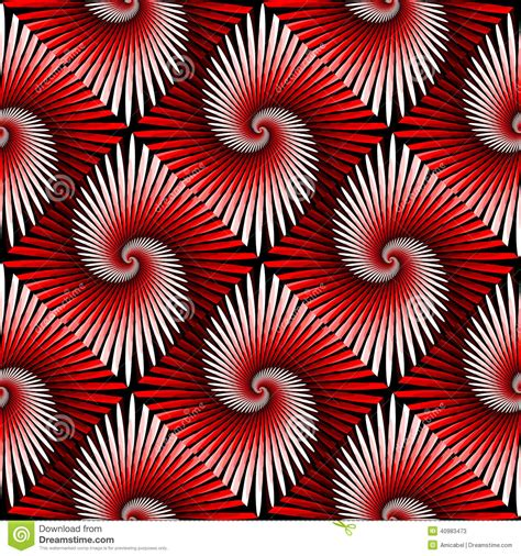svg pattern rotate design seamless colorful whirl rotation pattern stock