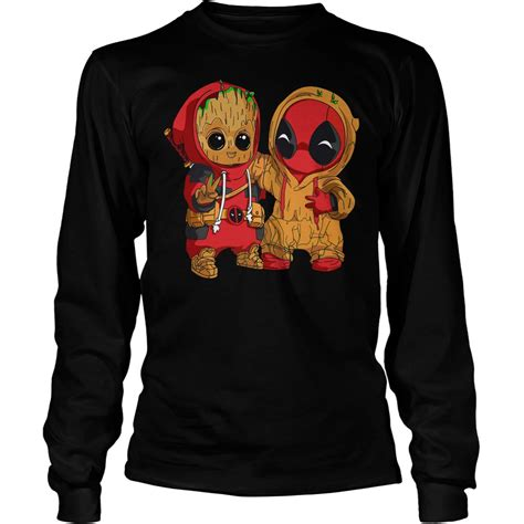 Hoodie Sweater Batman5 official deadpool and baby groot shirt hoodie and sweater