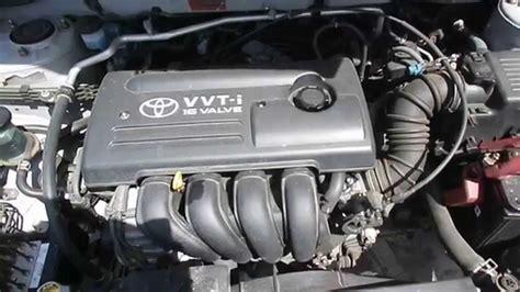 2002 Toyota Corolla Engine Wrecking 2002 Toyota Corolla Engine 1 8 5 Speed J14465