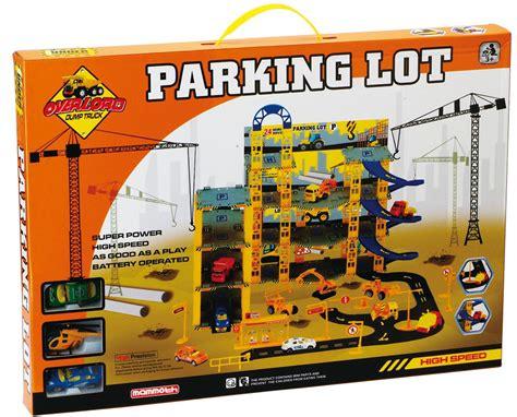 multi storey city car park auto parking garage die cast