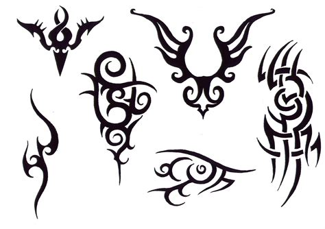 tattoo designs tribal back tribal flash tatto sets design flash