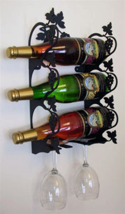 Small Wall Wine Rack by Grapevine Wine Rack Wall Mount Small