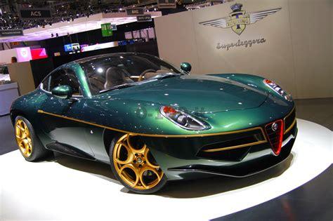 quanto costa l alfa romeo disco volante speciale salone di ginevra 2014 lo stand touring superleggera 0 100 it