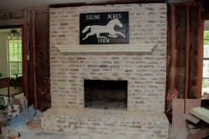 Acid Wash Brick Fireplace by Brick Mortar Wash Before After Maybe A Tutorial