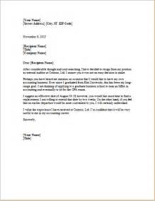 ms word formal resignation letter template word document