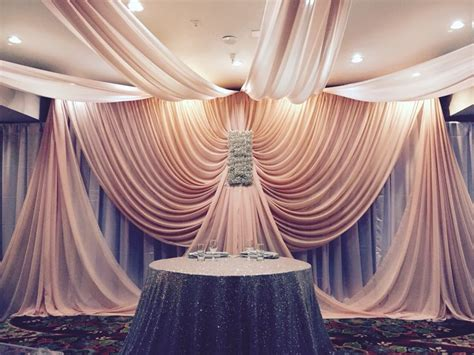 draped fabric wedding backdrop fabric draping 10 handpicked ideas to discover in other