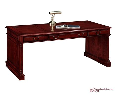 writing desk table desk cherry and walnut wood office