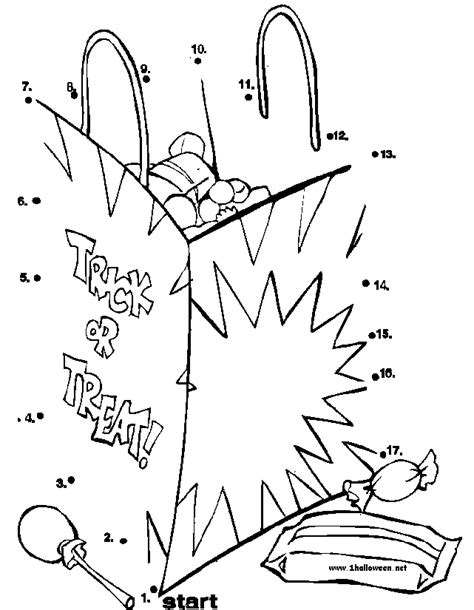 halloween coloring pages connect dots connet the dots coloring home