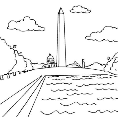 washington coloring pages free coloring pages of washington dc