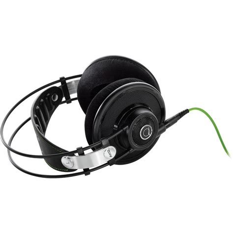 Akg Q701 Quincy Jones Green Edition Headphone akg q701 quincy jones signature on ear reference