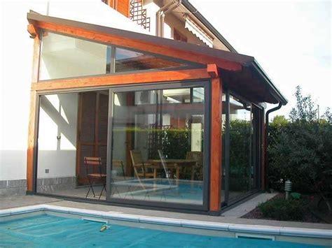 foto verande chiuse verande in legno foto 30 40 design mag