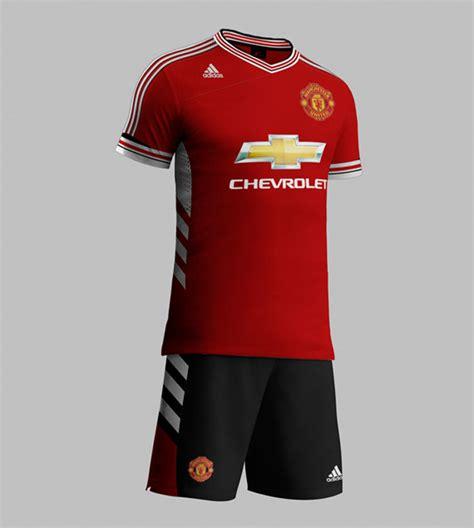 Baju Utd Adidas manchester united jersey for season 2015 2016 sponsored by adida uwictionary