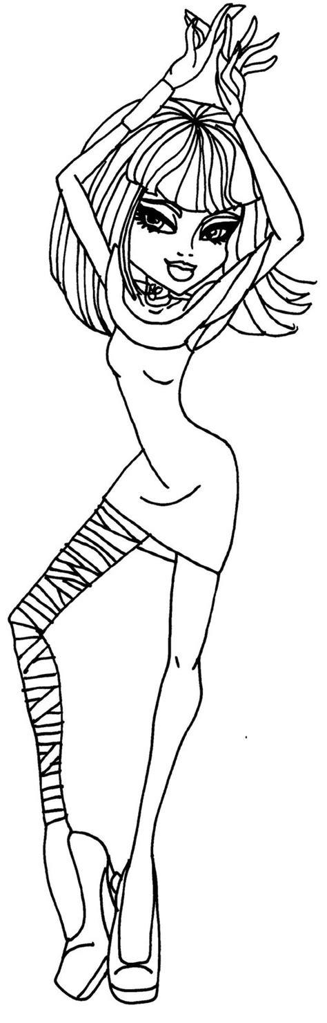monster high coloring pages cleo de nile dawn of the dance dawn of the dance cleo by elfkena on deviantart