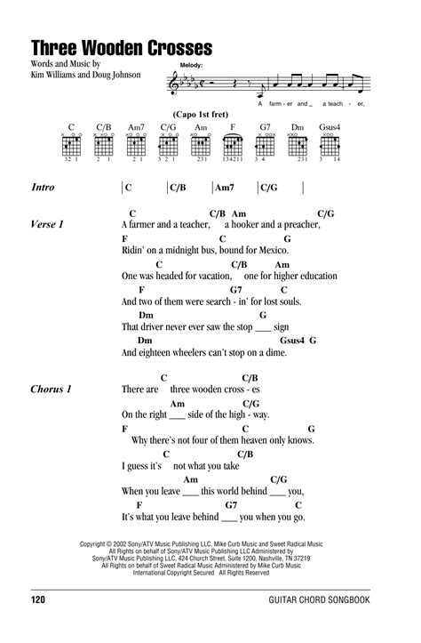 Randy Travis Guitar Chords