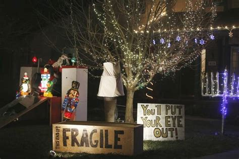 Christmas Displays Go Beyond Lights The Wichita Eagle Light Displays Wichita Ks