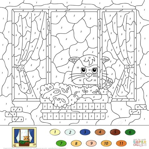 color by numbers coloring book of kittens and cats a kittens and cats color by number coloring book for adults for relaxation and stress relief color by number coloring books volume 13 books abstract coloring pages for teenagers difficult coloring