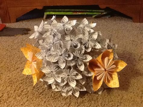 What Can I Make Out Of Paper - what do you think of my paper flower bouquets and how can