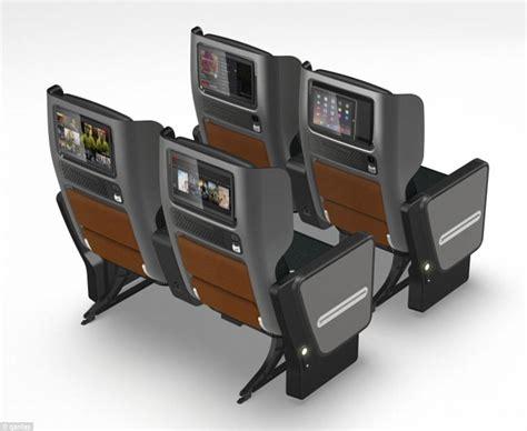 qantas economy seat pitch qantas unveils new premium economy seats daily mail