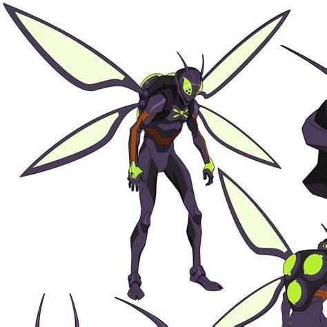 killer moth killer moth model sheet from batman bad blood we