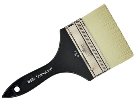 Large Scale Brush Liquitex Freestyle Broad Flat Brush 1 254cm large scale brush liquitex freestyle broad flat