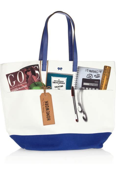 Anya Instant 1 anya hindmarch printed canvas tote all handbag fashion