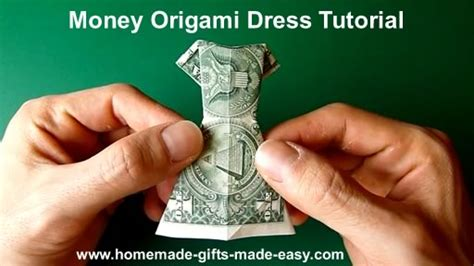 Money Origami Tutorial - money origami clothes tutorial origami handmade