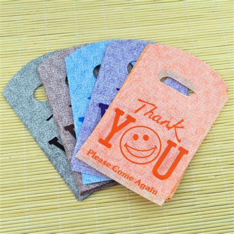 Plastik Goodie Bag 100pcs 9x15cm Small Plastic Gift Bags Smile Thank You