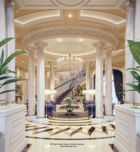 mansion interior design luxury mansion interior quot qatar quot on behance