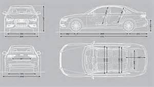 Size Of Audi A4 Audi A4 Dimensions 2015 Fhoto