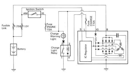 3 wire alternator wiring schematic 3 free engine image