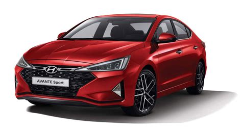 hyundai avante sport 2020 2019 hyundai avante sport previews the refreshed elantra