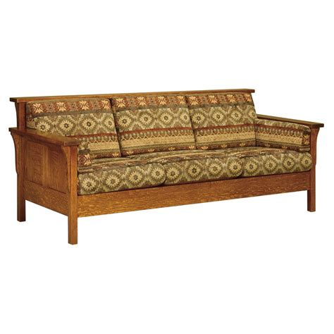 Amish Sofa by Amish Sofa Amish Mission Sofa Family Room And Theater