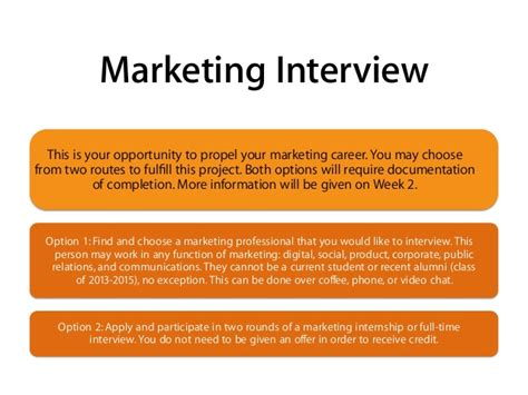 Marketing Mba Overview by Marketing Networking Course Overview